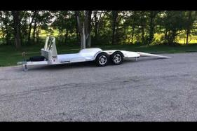 Embedded thumbnail for Aluminum Open Car Hauler