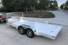 Hillsboro Industries Aluminum Open Car Hauler